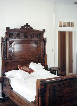 Herman B. Wells' bedroom, Woodburn House, Bloomington, Indiana